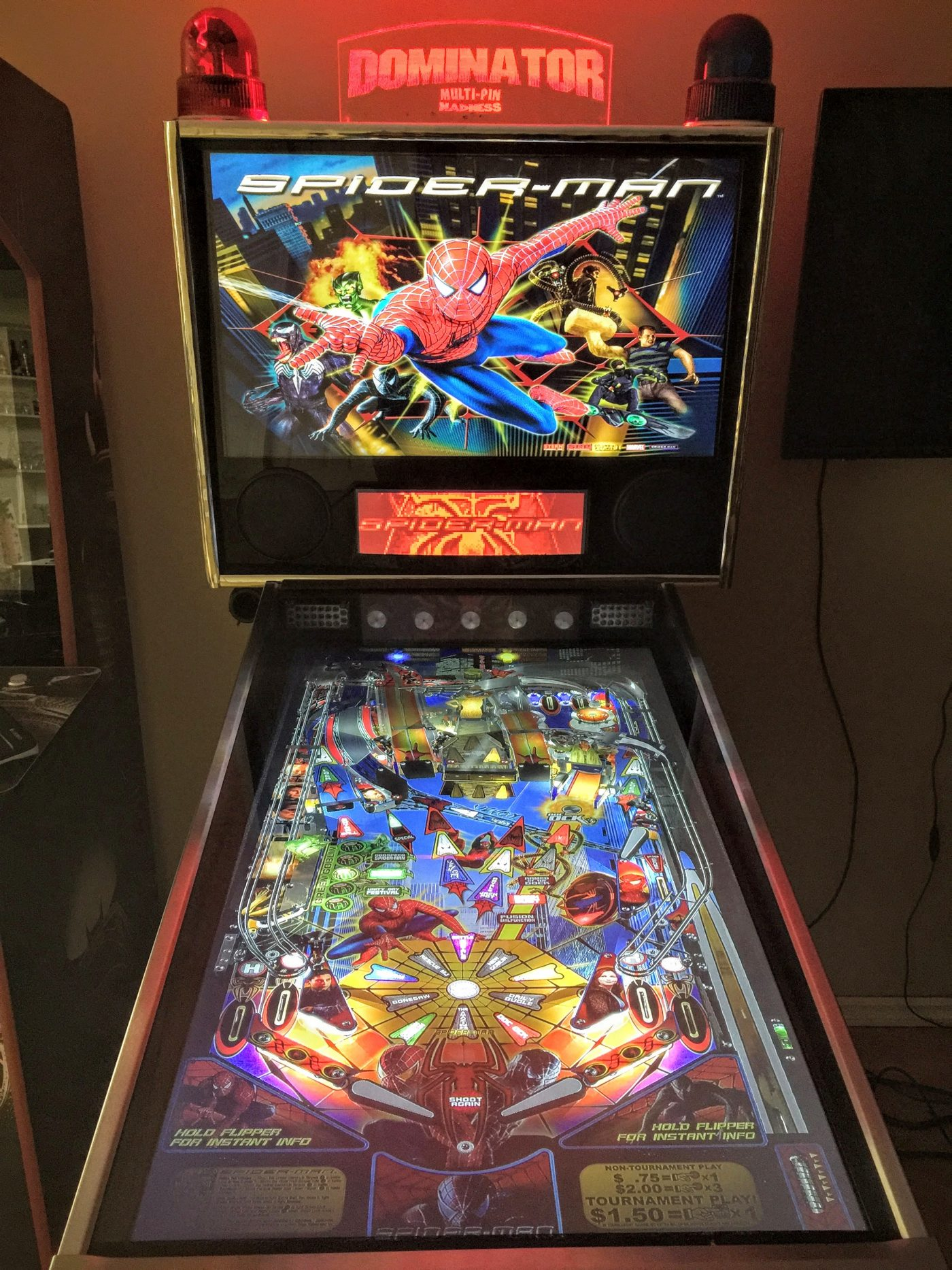 The Dominator Virtual Pinball Machine (Used / Show Room Condition ...